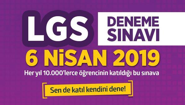 LGS TÜRKİYE GENELİ DENEME SINAVI